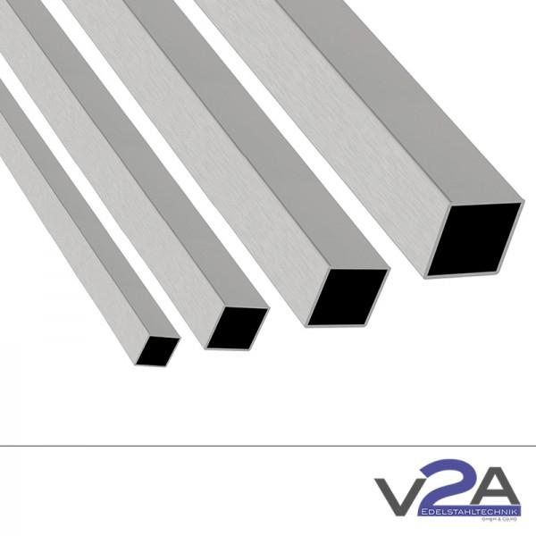 Vierkantrohr geschliffen V2A