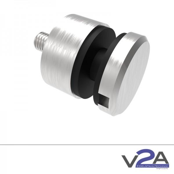 Punkthalter für Glasgeländer Glasstärke 6-16 mm Edelstahl