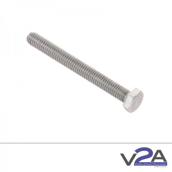Sechskantschraube ISO 4017 (ersetzt DIN 933) Gewinde bis Kopf
