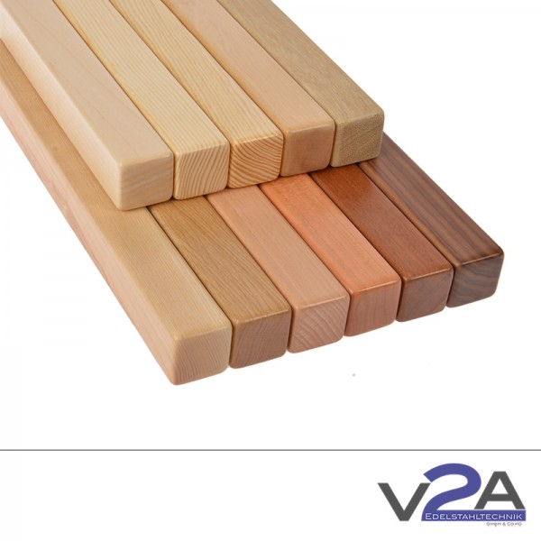 Vierkantholzhandlauf 42x42mm