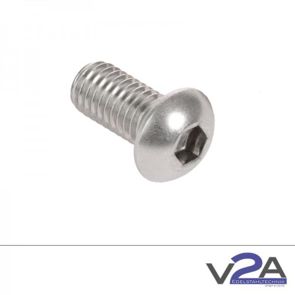 Schraube mit Halbrundkopf ISO 7380